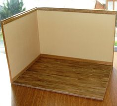 how to: versatile photo/room box (great for photographing minis for sale!)