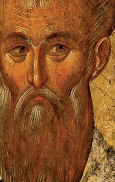 Saint Clement of Ohrid - Sveti Kliment Ohridski , XIV century, Icon gallery of Ohrid, FYRMacedonia Byzantine Icons, Byzantine Art, Religious Icons, Religious Art, Saint Clement, Like Icon, Old Faces, Best Icons, Mosaics