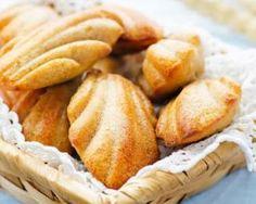 Madeleines à la vanille sans beurre pour petit déj au bureau…