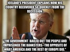 How did Iceland recover so quickly from recession?