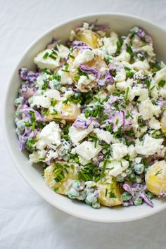 Baby Food Recipes, Whole Food Recipes, Spring Potato, Red Cabbage Salad, Clean Eating, Healthy Eating, Scandinavian Food, Good Food, Yummy Food
