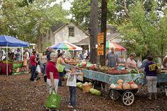 chestnut square farmers market in McKinney Texas