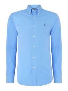 Polo Ralph Lauren Classic long sleeve slim fit shirt #houseoffraser  http://ow.ly/pNP2p
