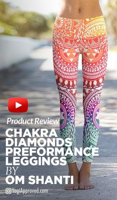 Product Review : Om Shanti Chakra Diamonds Performance Leggings