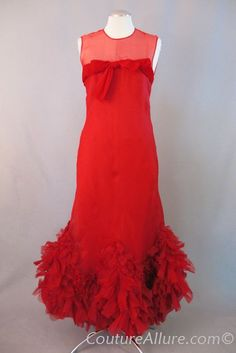 ... <b>Dress</b> » SOLD <b>Vintage</b> 60s <b>PIERRE</b> <b>BALMAIN</b> Haute Couture Evening <b>Dress</b>