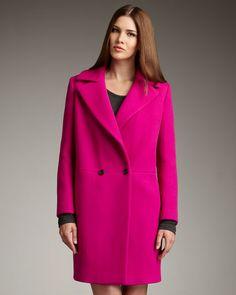 Ganni pink coat LFW | | GANNI UNIVERSE | | Pinterest | Coats, Pink ...
