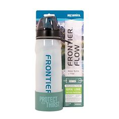 McNett Aquamira Frontier Filtered Water Bottle Green Filter -- Check out the image by visiting the link.