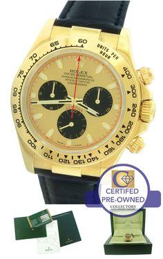 ENGRAVED Rolex Daytona Cosmograph 116518 Newman 18K Gold Chronograph 40mm Watch
