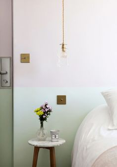 Two-toned Walls at Hotel Henriette in Paris | My Scandinavian Home