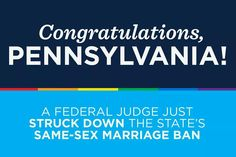 Congrats, Pennsylvania! I Support You, Red State, Gives Me Hope, Social Awareness, Oregon, Believe, Give It To Me, Congratulations, Politics