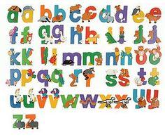 Safari Theme Letters | Jungle Letters