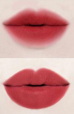 Lipstick - Makeup Tips Korean Makeup Tips, Korean Makeup Tutorials, Asian Makeup, Blusher Makeup, Makeup Eyeshadow, Makeup Inspo, Beauty Makeup, Makeup Ideas, Lipstick Designs