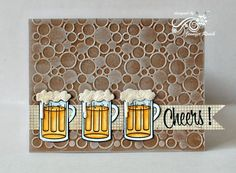 cheers for beers! invitation to a root beer float party  (Pin#1: Beverages... Pin+: Masculine).