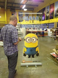 There is a minion in the factory!