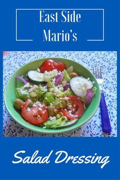 East Side Mario's Garden Salad Dressing - Food & Drink - Salat Rezepte Garden Vegetable Recipes, Veggie Recipes, Salad Recipes, Vegetarian Recipes, Cooking Recipes, Healthy Recipes, Vegetable Salads, Healthy Food, Tasty Meals
