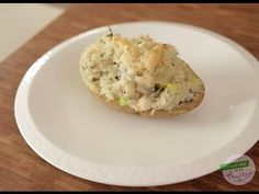 Cooking with Phyllis- Stuffed Potato and Crab With Basil Butter!