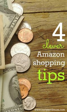 Shop much at Amazon? If you do, make good use of these 4 clever Amazon shopping tips so you'll get the best deals on food, books, shoes, home items and more every time.