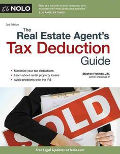Understanding tax deductions can be the difference between having a successful year--or not--for real estate agents and brokers. By taking advantage of the many tax deductions available to them, real