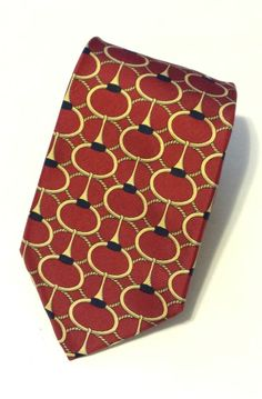 Burberry Unique Design neck tie All Silk Retail Value $290   #Burberry #NeckTie