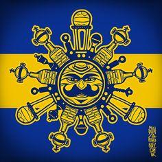 Simbolos Xeneizes on Behance Metallica, Transformers, Soccer, Football, Tattoos, Anime, Inspiration, Grande, Chinese