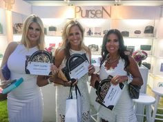 The women of Secrets & Wives at the PurseN lounge! #BELLAWhiteParty2015