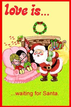 love is... waiting for Santa. https://www.facebook.com/pages/Questo-lo-riciclo-ti-Piace-LIdea/326266137471034