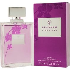 BECKHAM SIGNATURE perfume by Beckham  Candy apple, Patchouli, Musk, Vanilla, Heliotrope, Anise flower, Amber, Orchid