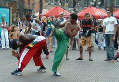 La capoeira au Brésil