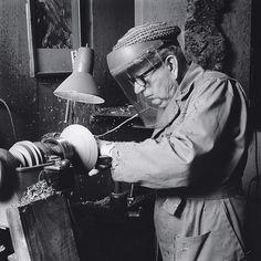 Bob Stockdale in his studio.