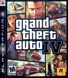 GRAND THEFT AUTO IV  -  Niko Bellic comes to Liberty City, America to live the good life, but ends up having to assist his dangerously indebted cousin Roman with his financial troubles, by any (mostly illegal) means necessary.