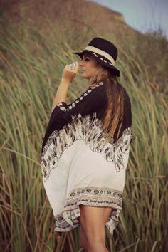 Women Loose Blouse Shirt Long Sleeve Cover Up Boho Tops Bohemian Kimono, Bohemian Print, Womens Boho Tops, Kimono Beach Cover Up, Bohemia Dress, Shirt Blouses, Boho Chic, Long Sleeve Shirts, Chiffon