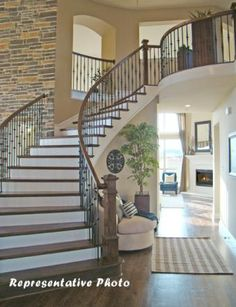 2011 Builder of the year Grand Homes! See why! Beautiful interior staircase which comes standard in all of Grand Homes. For more info on this home call Serenity Realty Group today! 214.509.8744 www.kaceysimmons.hotonhomes.com