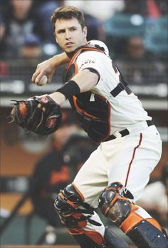 NEW YORK — Buster Posey of the San Francisco Giants was voted the NL Most Valuable Player on Thursday after returning from a devastating leg injury and . San Fran Giants, San Francisco Giants Baseball, Buster Posey, Mlb Players, Baseball Players, Dodgers, Baseball Boys, Baseball Records, Baseball Park