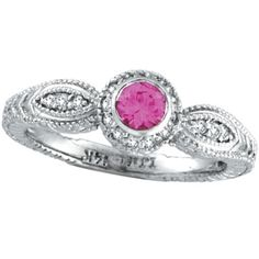 Pink Sapphires and diamonds.....it doesn't get any better than this! :o)