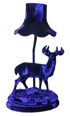 Stag study lamp