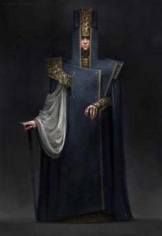 King (Villians) by Ivan Dedov | Art | 2D | CGSociety