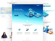 Zen Cargo - Shipping Made Easy by Paresh Khatri Web Design, Homepage Design, Design Ideas, Track Shipment, Global Supply Chain, Landing Page Design, Editorial Design, Make It Simple, Easy