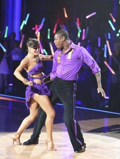 Karina Smirnoff & Jacoby Jones  -   Dancing With the Stars  -  week 1  -  Season 16  -  spring 2013