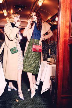 Frances Coombe & Anastasia Ivanova by Ellen von Unwerth for Vogue Italia Suggestions 2015