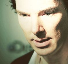Dont think we have enough pictures of benedict's eyes looking awesome. - It's true! :)