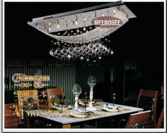 Free Shipping Hot sale Crystal Chandelier Light, Crystal Pendant Lamp, Crystal Luster Lighting With 8 G4 lights $428.00