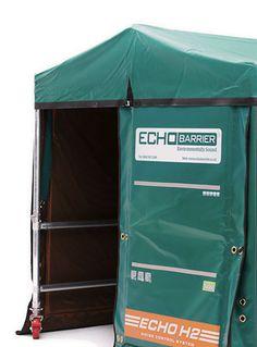 Acoustic Enclosure Echo Barrier portable acoustic enclosure is an ideal noise reduction barrier product for temporary works.  sc 1 st  Pinterest & Image result for bridge bradford | Bradford | Pinterest | Bridge