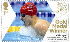 In Pictures: A gallery of some more special stamps issued by Royal Mail for each British Paralympic gold medallist at London Royal Mail Stamps, Gold Medal Winners, Team Gb, Republic Of Ireland, Stamp Collecting, Olympic Games, Great Britain, Postage Stamps