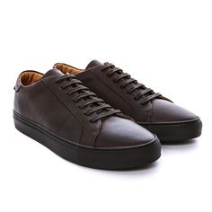 HE2 - Brown Leather Sneaker