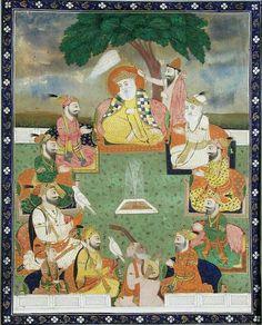 Miniatures. Sikh kingdoms .Punjab.