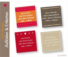 Aufkleber+Etiketten+in+der+Wunschfarbe,+250+Stück+von+artWERK-Shop+auf+DaWanda.com