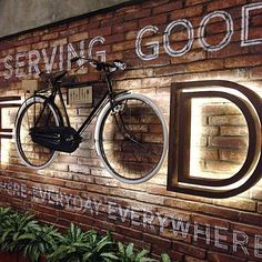 Each restaurant has a brand.Great, powerful, and effective restaurant branding is all about marrying your marketing with your operations. Restaurant Branding, Deco Restaurant, Outdoor Restaurant, Coffee Shop Design, Cafe Design, Store Design, Menu Design, Design Design, Graphic Design