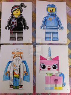 Lego Movie Wall Art 2