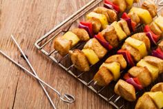 Nutrisystem provides a delicious and healthy recipe for Pineapple Chicken Kebabs.