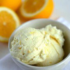 Λαχταριστό παγωτό λεμόνι έτοιμο σε 2 κινήσεις (χωρίς παγωτομηχανή)!!! Ο τέλειος και πιο νόστιμος τρόπος για να αντιμετωπίσετε τον καύσωνα. Ζέστη ε; Νιώθετε